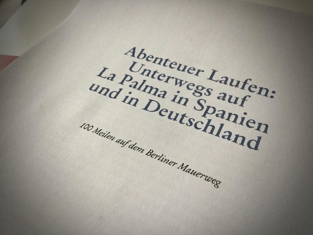 Manuskript ausgedruckt für das Lektorat.